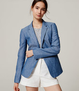 LOFT Tall Chambray Blazer