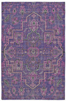 World Menagerie Aanya Hand-Knotted Purple Area Rug Rug