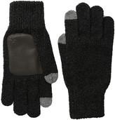 Original Penguin Textured Knit Tech Touch Gloves