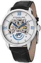 Stuhrling Original Sthrling Original Mens White Dial Skeleton Automatic Watch