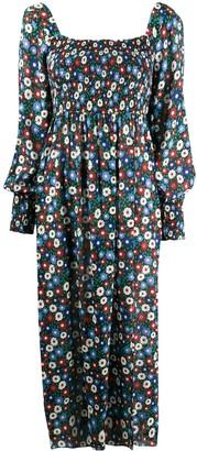 Rixo Marie floral-print dress