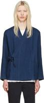 Blue Blue Japan Indigo Haori Shirt