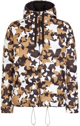Dolce & Gabbana Star Print Padded Jacket