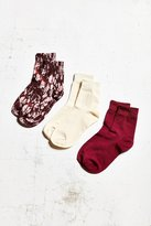 Out From Under Basic Trouser Sock 3 Pack