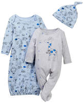 Vitamins Baby Travel Animals 3-Piece Set (Baby Boys)