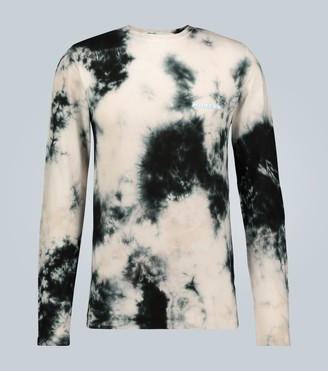 Off-White Tie-dye long-sleeved T-shirt