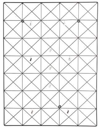 Pottery Barn Teen Geo Wire Photo Grid, Black