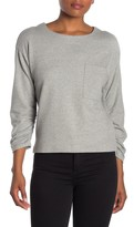 Ella Moss Reese Ruched Sleeve Sweater