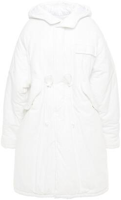 MM6 MAISON MARGIELA Oversized Cotton Hooded Coat