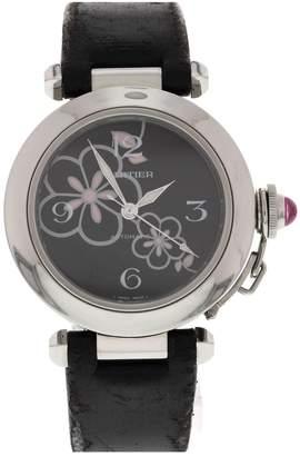 Cartier Pasha Black Steel Watches