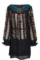Needle & Thread Embroidered Voile Mini Dress