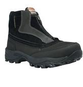 Dunham Black Tony Leather & Suede Boot - Men