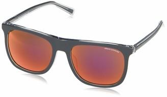 Ax Armani Exchange A X Armani Exchange Men's AX4102SF Asian Fit Square Sunglasses