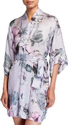 Christine Lingerie Steel Magnolias Short Robe