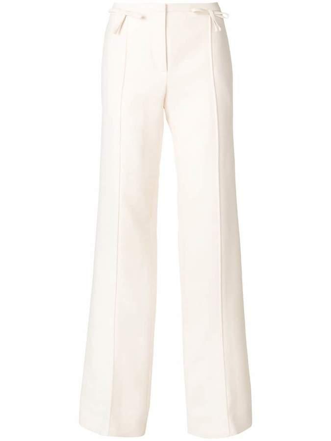 Valentino bow detailed palazzo pant