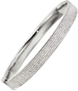 Shay Six Row Pavé Diamond Bangle Bracelet