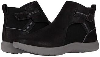 Clarks Adella Cove (Black Textile) Women's Boots