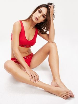 Tommy Hilfiger Cut Out Pull-On Bralette