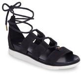 MICHAEL Michael Kors Women's Mckenna Ghillie Wedge Sandal