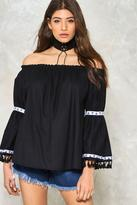Nasty Gal nastygal Phoebe Off-the-Shoulder Blouse