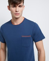 Jaeger Cotton Contrast Trim T-Shirt