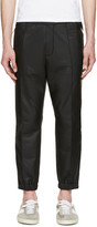 DSQUARED2 Black Matte Lounge Pants