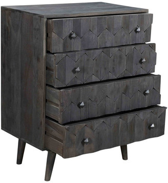Moti Onyx 4-Drawer Chest