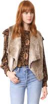 BB Dakota Jack by Dwight Faux Fur Vest