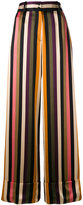 Petar Petrov striped trousers - women - Silk - 40