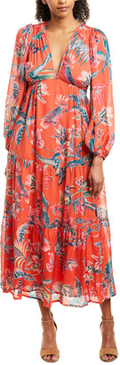 Banjanan Laura Silk Maxi Dress