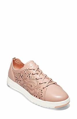 Cole Haan Women's GRNDPRO TNNIS LSRCUT:Mahogany Opt Sneaker