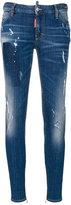 DSQUARED2 super skinny jeans - women - Cotton/Spandex/Elastane - 40