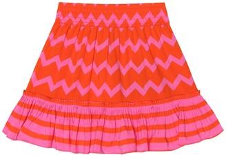 Stella McCartney Kids Zig-Zag skirt