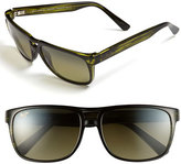 Maui Jim Men's 'Waterways - Polarizedplus2' 58Mm Sunglasses - Matte Black
