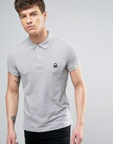 Benetton Short Sleeve Polo Shirt in Slim Fit