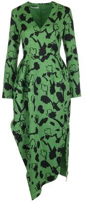 REJINA PYO Asymmetric Printed Dress