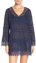 Tory Burch Women's Crochet Lace Cover-Up Dress