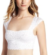 Fashion Forms Women's Lace Crop Top