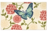 "Nourison Enhance Butterfly 20"" x 32"" Accent Rug"