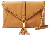 Milly Astor Whipstitch Foldover Convertible Clutch