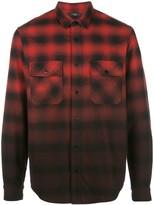 Amiri Dip Dye flannel shirt