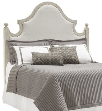 Lexington Oyster Bay Arbor Hills Upholstered Panel Headboard Size: Queen