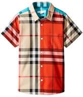 Burberry Frederick Shirt Boy's Short Sleeve Knit