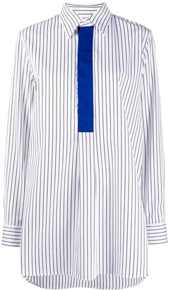 Plan C Striped Longline Shirt