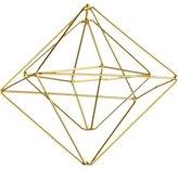 CB2 Boxes Gold Ornament