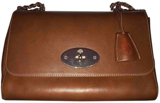 Mulberry Lily Medium Brown Leather Handbags