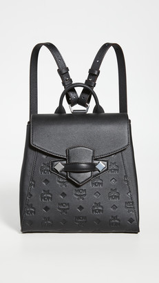 MCM Essential Monogrammed Small Backpack