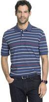 Arrow Big & Tall Classic-Fit Multi-Striped Polo