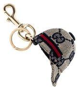 Gucci GG Canvas Hat Keychain