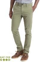 Classic stretch skinny fit khakis